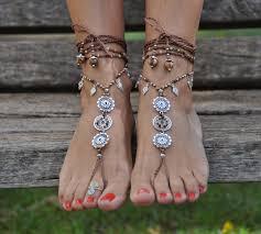 barefoot sandals barefoot sandals earth mandala wedding foot jewelry