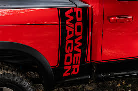 Dodge Ram Decals - 2017 ram 2500 power wagon 4x4 off road package first look