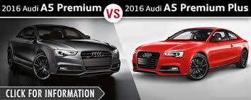 audi premium vs premium plus audi coupe model comparisons naperville il