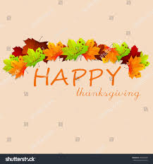 happy thanksgiving day design pattern on stock vector 478448638