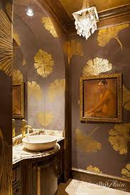 Wallpapered Bathrooms Ideas 1337 Best Gorgeous Bathrooms Images On Pinterest Room Dream
