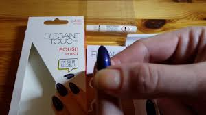 elegant touch nails petrol youtube