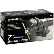 pro grade xl 7 in mechanic u0027s bench vise by pro grade at mills