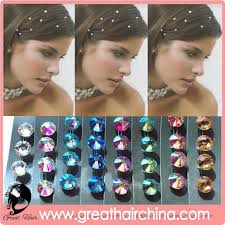 hair crystals fashion hair bling hair free shipping by dhl buy weaving