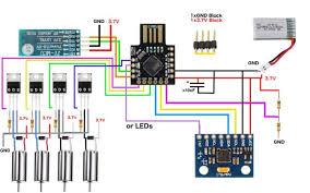 arduino micro quadcopter 6 steps