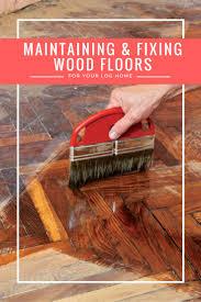 Maintaining Laminate Flooring Maintaining U0026 Fixing Wood Floors Woods Logs And Cabin
