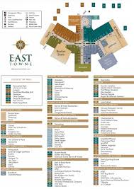 towne east mall map towne mall map my