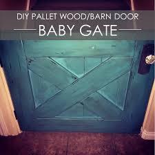 Distressed Barn Door by Diy Reclaimed Wood Barn Door Baby Gate U2013 Rockin U0027 The Dots