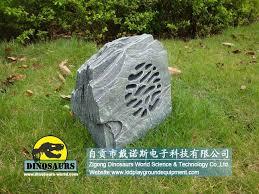 garden speaker park equipments rock speaker zigong dinosaurs