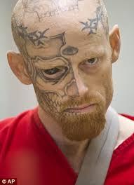 jason barnum arrested terrifying criminal with a tattooed eyeball