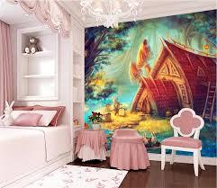 online get cheap fairy murals aliexpress com alibaba group custom 3d photo wallpaper kids room mural fairy tale world 3d photo hd painting bedroom sofa