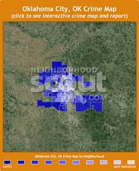 okc zip code map oklahoma city crime rates and statistics neighborhoodscout