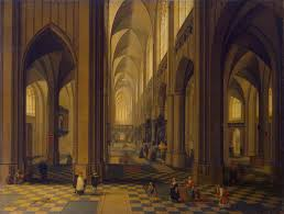 file peeter neeffs ii interior of the antwerp cathedral