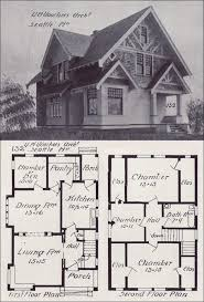 Western Style House Plans | seattle homes tudor style house plan design no 132 1908 western