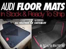 genuine audi a4 car mats ecs audi b6 b7 a4 s4 rs4 floor mats
