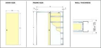 Standard Door Sizes Interior Aadenianink