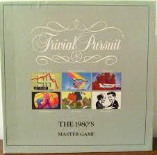 80s Trivial Pursuit Trivial Pursuit The 1980 U0027s Board Game Boardgamegeek