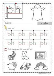 Ph Worksheet Worksheets Ph Words A Word Family Book