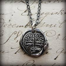 silver coin necklace pendants images Medieval coin necklace shannon westmeyer jewelry jpg