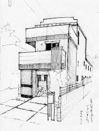 drawn house japanese pencil and in color drawn house japanese