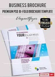 business v27 premium bi fold psd brochure template all design