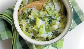 cuisiner les verts de poireaux fondue de poireaux surgelés les légumes picard