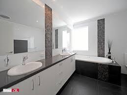 Bathroom Design With Spa Bath Using Polished Concrete Bathroom - Modern ensuite bathroom designs