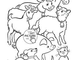 farm animals coloring pages farm animals coloring pages free