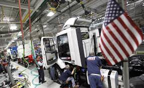 volvo truck manufacturing plants u s growth slowed to 2 2 in first quarter cleveland com
