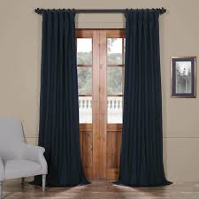 Navy Blackout Curtains Polo Navy Solid Blackout Curtain And Drapes