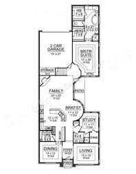 Narrow House Plans by Shadow Glen Narrow Floor Plans Texas Floor Plans