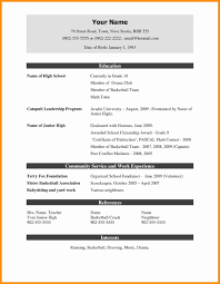 free resume formats free resume format template cv in exles free madratco