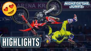 youtube motocross freestyle freestyle motocross highlights night of the jumps krakow 2017