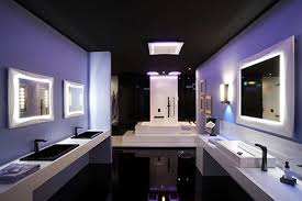 bathroom modern design christmas lights decoration