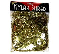 mylar shred 2oz 2mm mylar shred gold foil cutouts mylar shreds foil