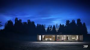 download modern winter house home intercine