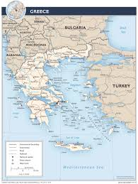 Political Map Of Europe by Maps Of Greece Greece Detailed Map In English Tourist Map Map