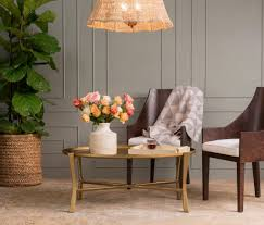 Addison Floor Lamp Made Goods Addison Oval Coffee Table Aged Brass U2013 Clayton Gray Home
