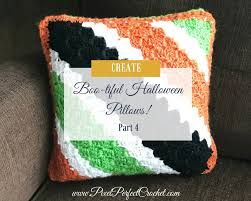 boo tiful crochet halloween pillow part 4 free graph and