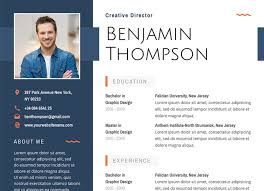 resume with photo template 40 best 2018 s creative resume cv templates printable doc