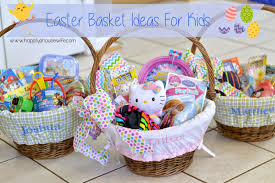 easter basket gifts happily a easter basket ideas for kids