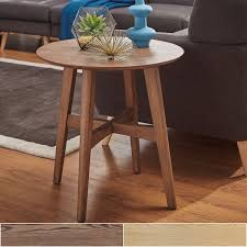 rona wood end table inspire q modern free shipping today