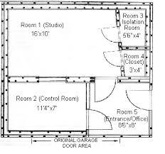 Studio Plans by Building Your Cottage Recording Studio