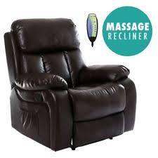 homcom pu leather rocking sofa chair recliner homcom pu leather rocking sofa chair recliner brown ebay