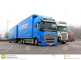 commercial truck volvo blue volvo fh16 750 truck editorial photo image 34962006