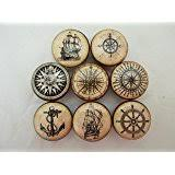 Sea Life Cabinet Knobs Set Of 8 Vintage Sea Life Cabinet Knobs Amazon Com