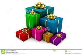 wrapped gift boxes wrapped gift boxes stock illustration illustration of decoration