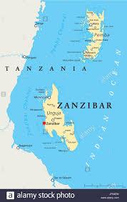 Tanzania Map Africa Tanzania Zanzibar Map Atlas Map Of The World Travel