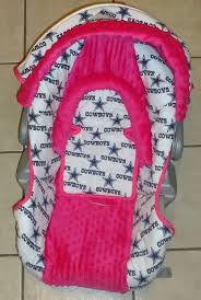 Dallas Cowboys Drapes by Pink Dallas Cowboys Baby Car Seat Cover Makes Me Really Want