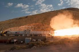 Utah World Travel images Utah hosts ground test of world 39 s largest solid rocket motor jpg